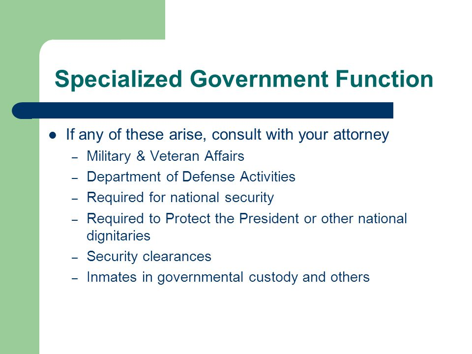 When Disclosure to Law Enforcement is Allowed [Slide 1 of 5]